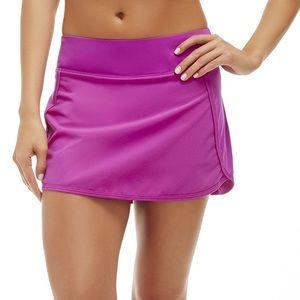 Fabletics🤸🏻♀️Carmo skirt skort fuchsia Sz Small
